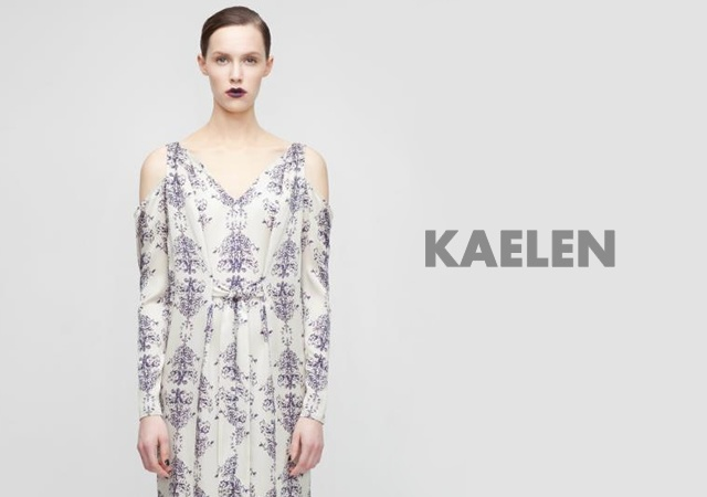 Kaelen fall/winter 2012 | Image courtesy of Kaelen