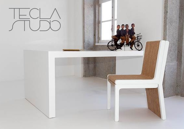 Tecla chair | Image courtesy of Tecla Studio