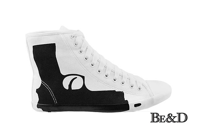 Be and D Pistol sneakers