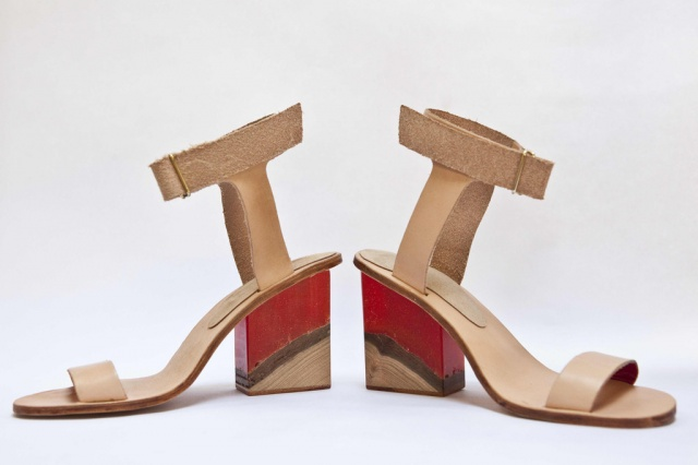 Martha Davis sculpture shoes
