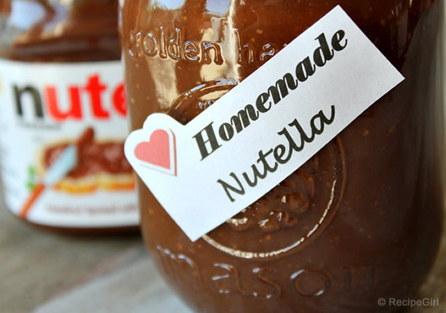 Nutella fatta in casa | Image courtesy of RecipeGirl