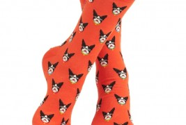 Boston Terrier socks - thumbnail_1