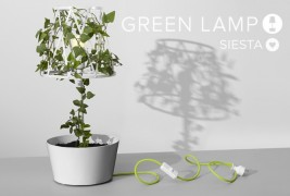 Green lamp