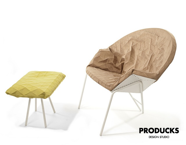 Poli lounge chair | Image courtesy of Producks