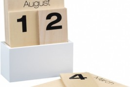 Wood shuffle calendar - thumbnail_3