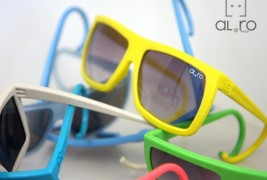 Al e Ro rubber sunglasses - thumbnail_1