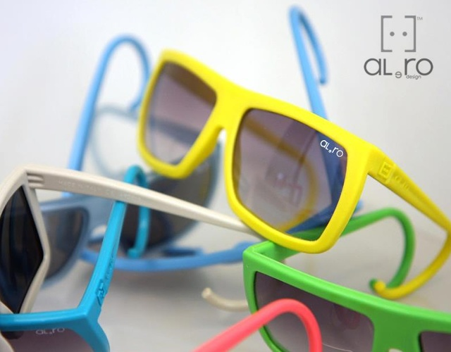 Al e Ro rubber sunglasses | Image courtesy of Al e Ro
