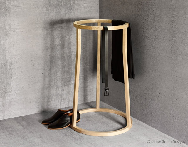 Uma clothes stand | Image courtesy of James Smith Designs