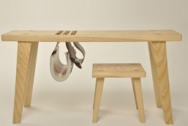Cow and Calf: desk and stool