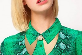 Brooch collar necklace - thumbnail_1