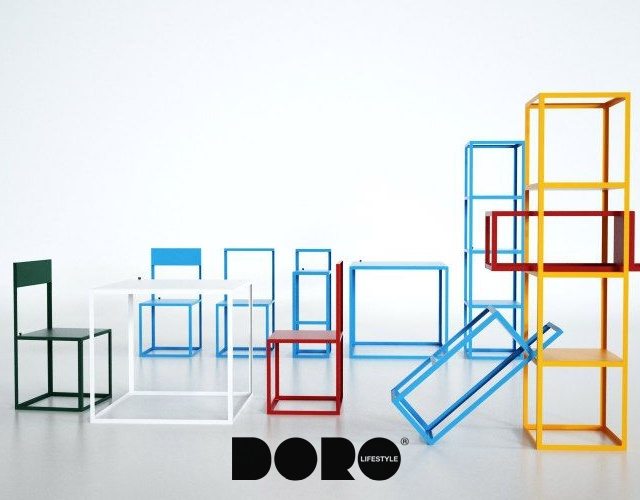 Aria collection by DORODESIGN | Image courtesy of DORODESIGN