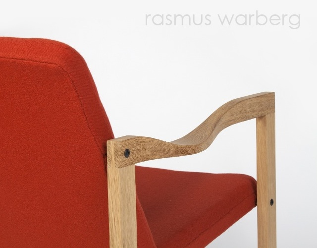 Easy chair by Rasmus Warberg | Image courtesy of Rasmus Warberg