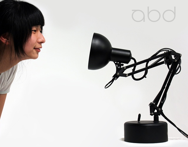 i-lamp animatronics lamp | Image courtesy of Adam Ben-Dror