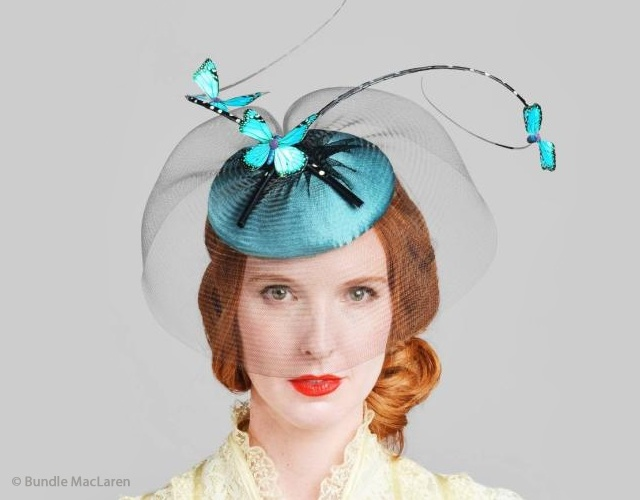 Bundle MacLaren millinery | Image courtesy of Bundle MacLaren