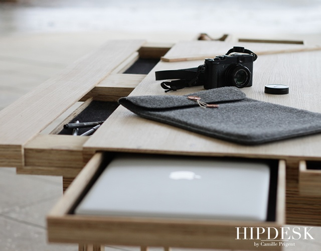 Hipdesk by Camille Prigent | Image courtesy of Yves Qur