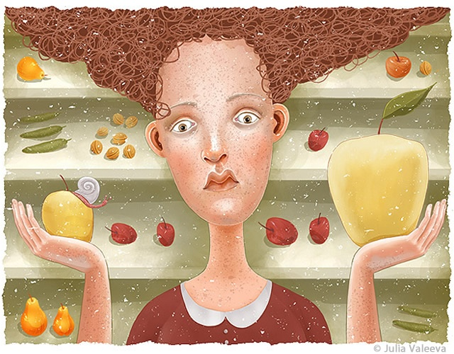 Illustrations by Julia Valeeva