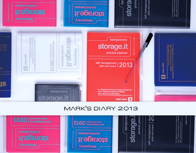 Storage.it 2013 diary by Mark's