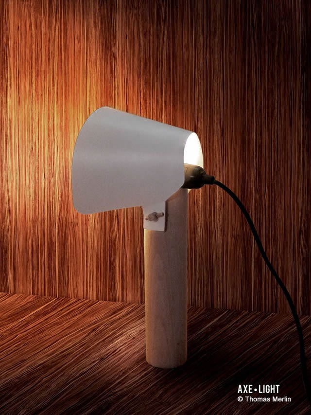 Axe Light Lamp En Themag