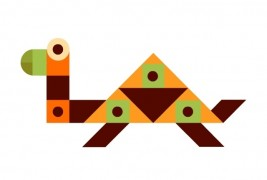 Geometric animals - thumbnail_2