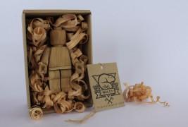 Omino Lego in legno - thumbnail_2