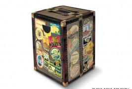 Globetrotter cardboard stool - thumbnail_2