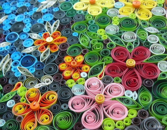 MaD quilling works | Image courtesy of MaD