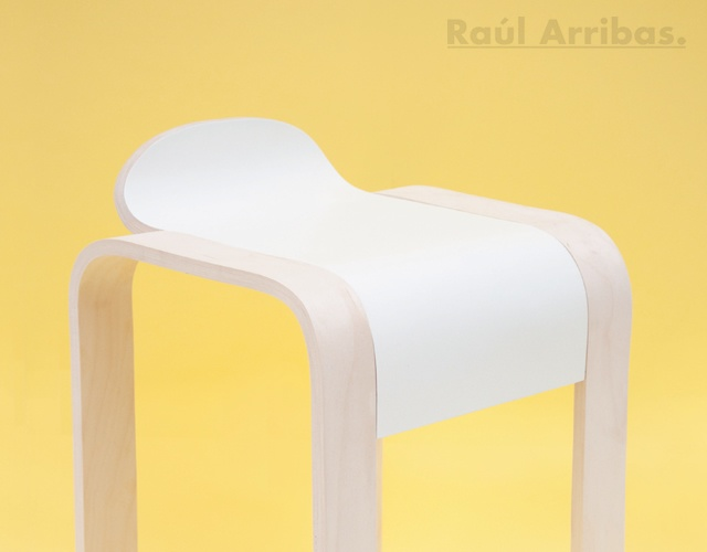 Stool #1 | Image courtesy of Raul Arribas De Miguel