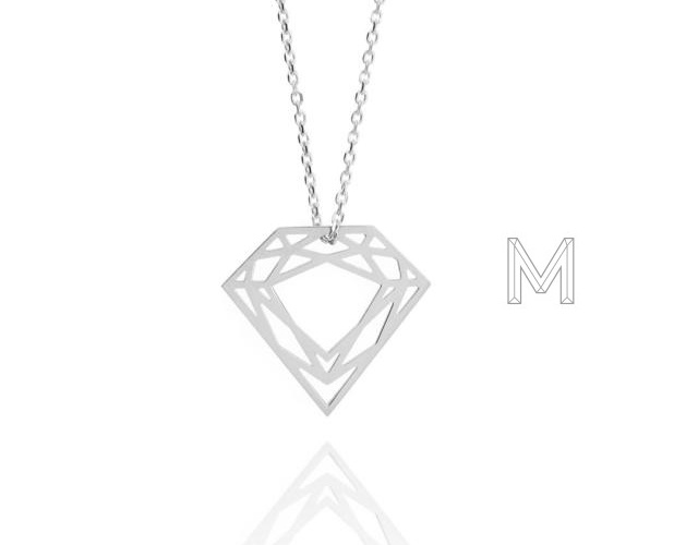 Myia Bonner diamond necklace