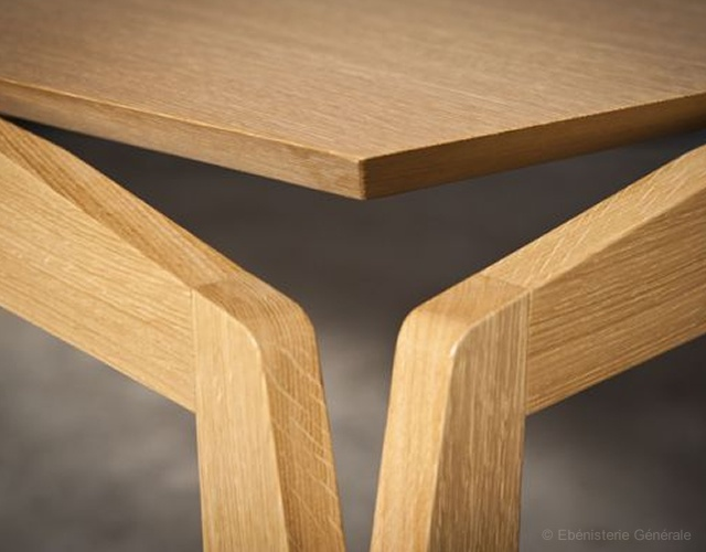 Stellar table | Image courtesy of Ebenisterie Generale