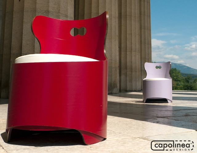 Tonda armchair | Image courtesy of Capolinea Design