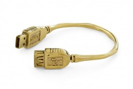 Flash drive bracelet
