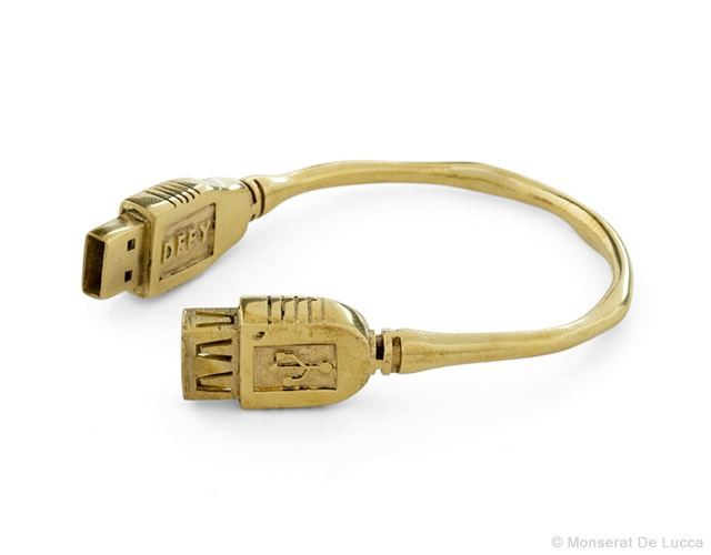 Flash drive bracelet | Image courtesy of Modcloth