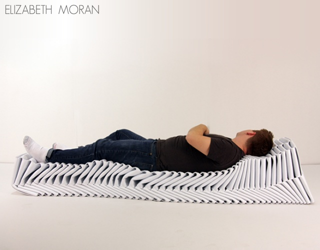 Fold braid bench | Image courtesy of Elizabeth Moran