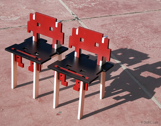 Game Over chair | Image courtesy of DoKC Lab