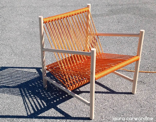 Loom lounge chair | Image courtesy of Laura Carwardine