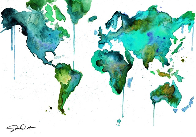 Watercolors by Jessica Durrant | Image courtesy of Jessica Durrant