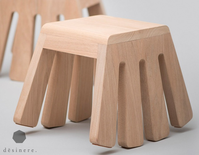 Itty Bitty rocking stool | Image courtesy of Desinere