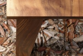 Walnut & Steel table - thumbnail_6