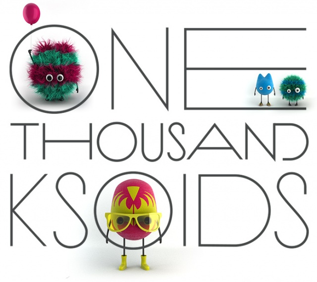 One Thousand Ksoids | Image courtesy of Danil Krivoruchko