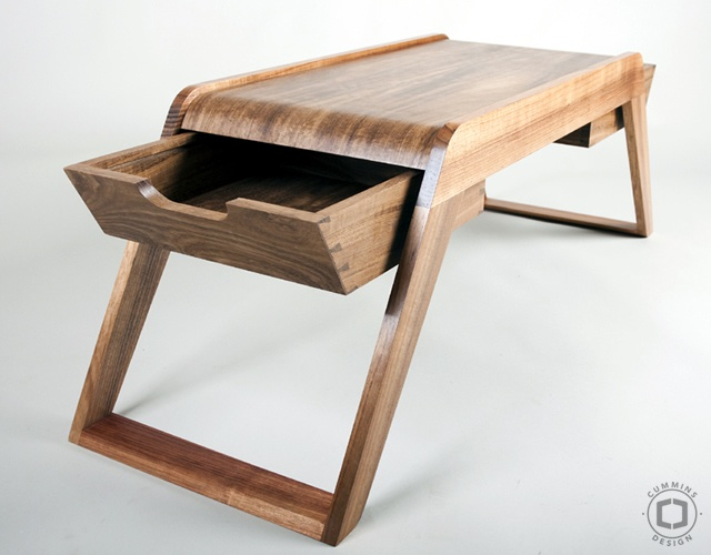 Bridge coffee table