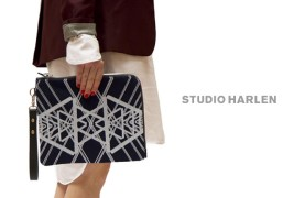 Studio Harlen printed clutch - thumbnail_1