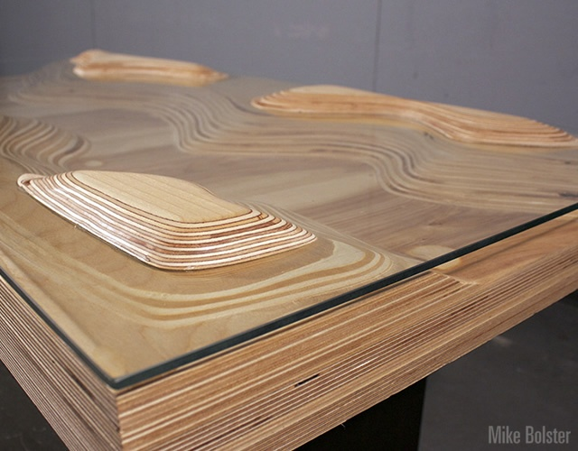 Peaks and Valleys table | Image courtesy of Mike Bolster