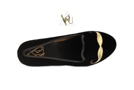 Y.R.U. mustache loafers - thumbnail_1