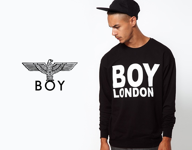 Boy London sweat | Image courtesy of Boy London