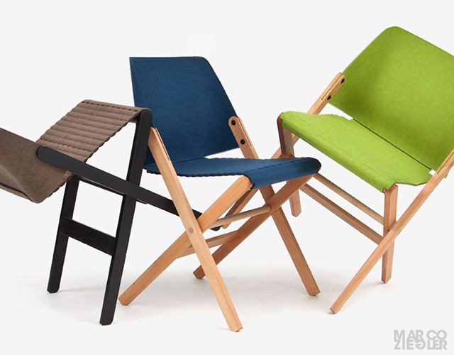 Turtle folding chair | Image courtesy of Martin Patze