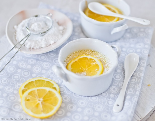 Pudding al limone | Image courtesy of Sunshine and Smile