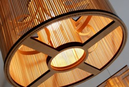 Cage pendant light - thumbnail_1