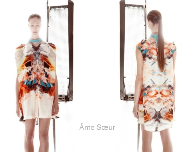 Ame Soeur spring/summer 2013 | Image courtesy of Julia Blank