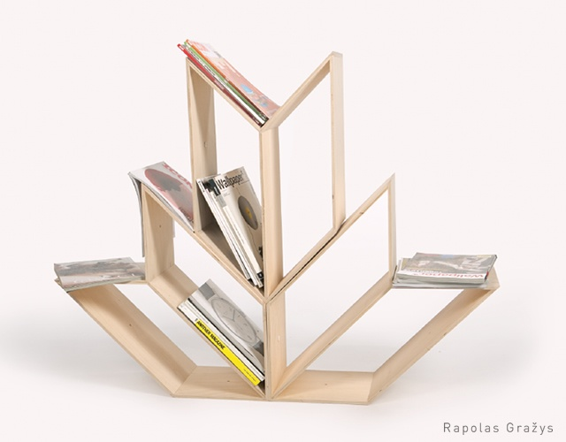 Audziu / Weaves shelf | Image courtesy of Rapolas Grazys