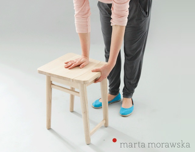 Stool+ by Marta Morawska